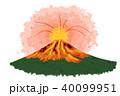 噴火 活火山 富士山のイラスト 40099951