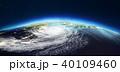惑星 地球 天気のイラスト 40109460