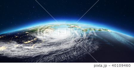 Planet Earth weather. 3d rendering 40109460