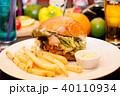 ハンバーガー 40110934