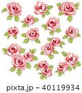 薔薇 植物 花のイラスト 40119934