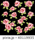 薔薇 植物 花のイラスト 40119935