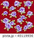薔薇 植物 花のイラスト 40119936
