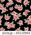 薔薇 植物 花のイラスト 40119964