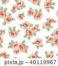 薔薇 植物 花のイラスト 40119967