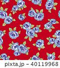 薔薇 植物 花のイラスト 40119968