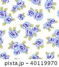 薔薇 植物 花のイラスト 40119970