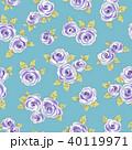 薔薇 植物 花のイラスト 40119971