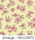 薔薇 植物 花のイラスト 40119972