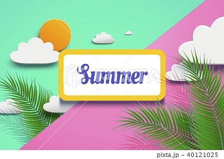 Vivid summer design 40121025
