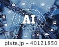 AI 人工知能 俯瞰の写真 40121850