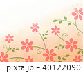 花柄 花 模様のイラスト 40122090