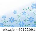花柄 花 模様のイラスト 40122091