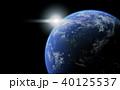 地球 太陽 宇宙のイラスト 40125537