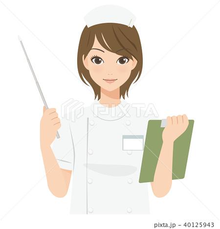 がんばるオンナノコ 看護師さん 40125943
