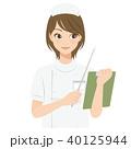 女性 看護師 ナースのイラスト 40125944