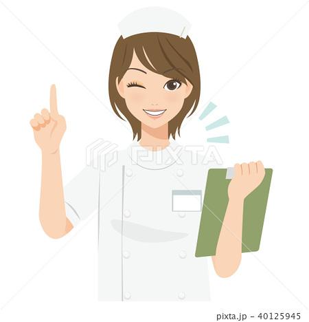 がんばるオンナノコ 看護師さん 40125945