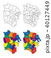 横浜市の地図(区割り) 40127449