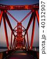 筑後川昇開橋 昇開橋 橋の写真 40132907