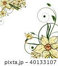 葉 蝶 花柄のイラスト 40133107