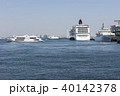 大型客船 クルーズ船 横浜港の写真 40142378