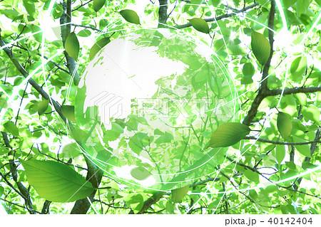 新緑(エコロジーイメージ) 40142404