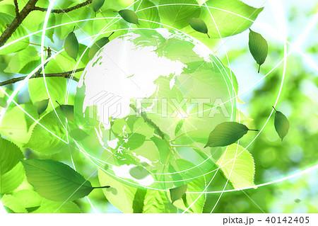 新緑(エコロジーイメージ) 40142405