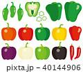 ピーマン パプリカ 食材のイラスト 40144906