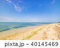 石垣島 ビーチ 海の写真 40145469