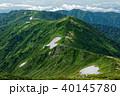 飯豊本山から見る三国岳・種蒔山への稜線 40145780