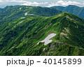 飯豊本山から見る三国岳・種蒔山への稜線 40145899