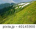 山 飯豊連峰 風景の写真 40145900
