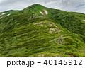 飯豊連峰 山 自然の写真 40145912