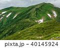 飯豊連峰 山 自然の写真 40145924