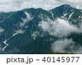 飯豊連峰・切合小屋付近から見る雲湧く大日岳 40145977