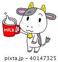 牛乳 勧める 牛 40147325