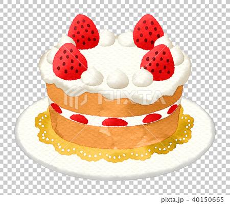 Fantastic Strawberry Shortcake Base Watercolor Without Stock Personalised Birthday Cards Beptaeletsinfo