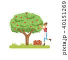 樹木 樹 ツリーのイラスト 40151269