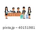 アジア人 アジアン アジア風のイラスト 40151981