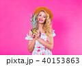 夏 ぱいなっぷる パイナップルの写真 40153863
