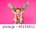 ぱいなっぷる パイナップル パインの写真 40154011