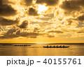 グアム タモン湾のサンセット 40155761