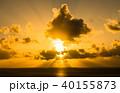 グアム タモン湾のサンセット 40155873