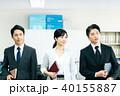 ビジネス ミドル 男女の写真 40155887