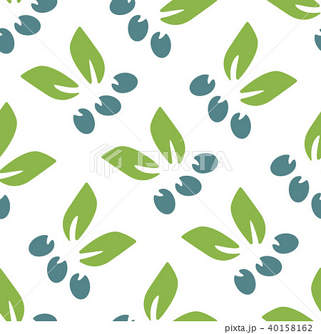 Simple floral seamless pattern. 40158162