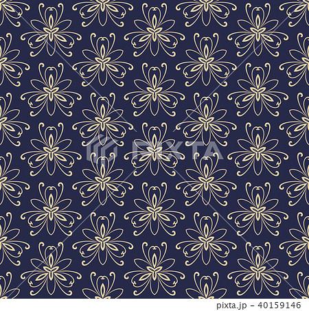 Floral Fine Seamless Pattern 40159146