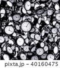 置時計 時間 時刻のイラスト 40160475