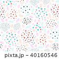 抽象的 パターン 柄のイラスト 40160546
