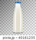 ミルク 乳 牛乳のイラスト 40161235