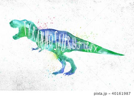Dynosaur tyranosaurus vivid 40161987